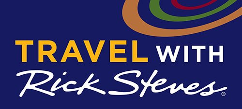 Rick Steves talk show logo